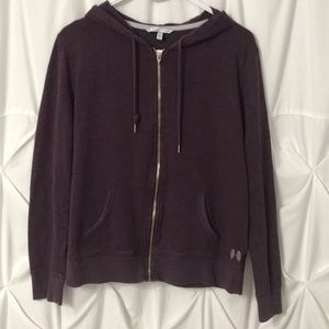 Victoria's Secret Plum Colored Hoodie - pre Owned